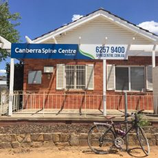 Canberra Spine Centre Front of Building Chiropractor Canberra